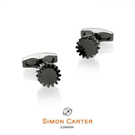 サイモンカーター - 英国製 カフリンクス COG ガンメタル 267029