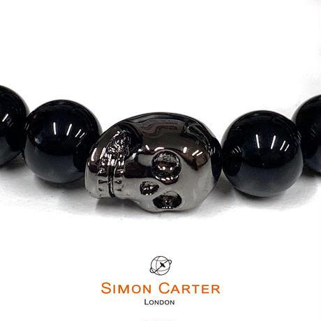 サイモンカーター - 英国製 パワーストーンブレスレット 261202/1 ブラックオニキス