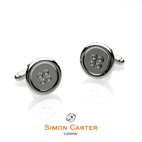 サイモンカーター(ウエストエンド) - 英国製 カフリンクス ボタン 267001