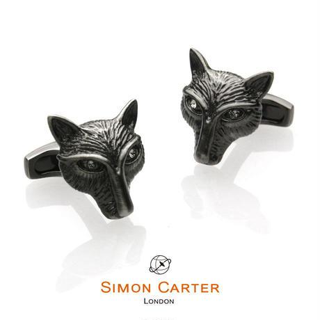サイモンカーター - 英国製 カフリンクス フォックスヘッド 267047
