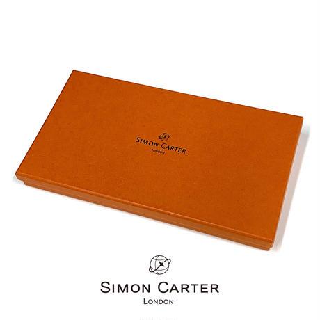 サイモンカーター - 英国製 レザーロングウォレット/長財布 JACBRW150 ブラウン