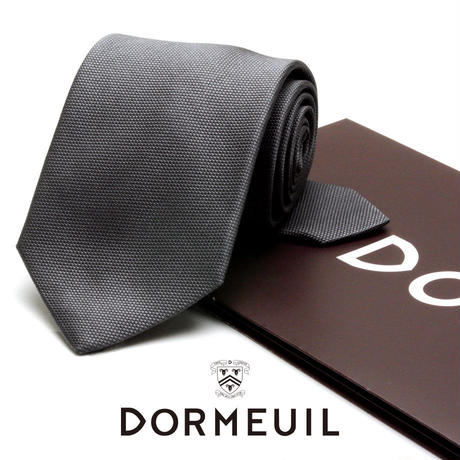 ドーメル - フランス製 フォーマルネクタイ シルバー 慶事用 DM035