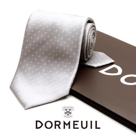 ドーメル - フランス製 フォーマルネクタイ シルバー 慶事用 DM011