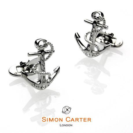 サイモンカーター - 英国製 カフリンクス アンカー  267041