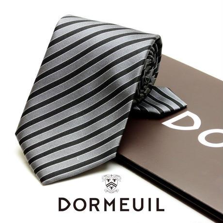 ドーメル - フランス製 フォーマルネクタイ シルバー 慶事用 DM003
