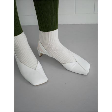 10,〔plain〕two tone wool rib socks【全額支払い】