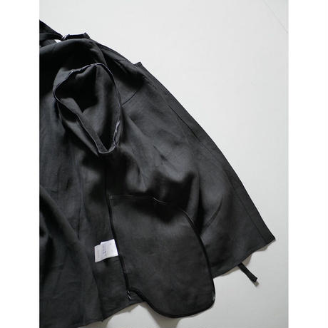 〔plain〕boyish linen shirt