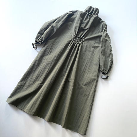 3.〔plain〕Slit&volume dress【全額】
