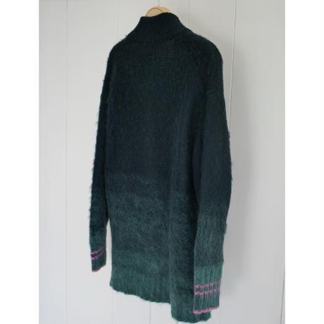 7,〔rich〕Mohair knit cardigan【内金50%前払い】