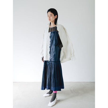 3,〔plain 〕Pleats camisole dress【内金50%前払い】