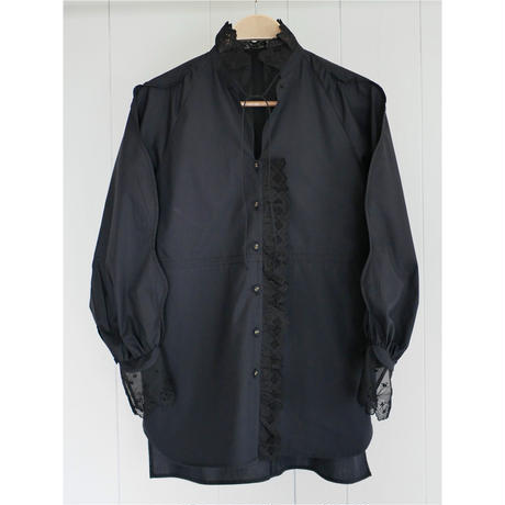 1,〔rich〕Smooth line lace blouse【全額支払い】