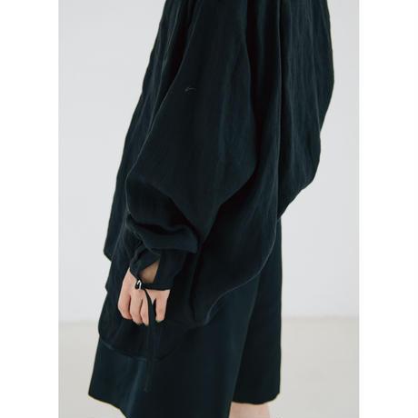 〔plain〕satin short pants