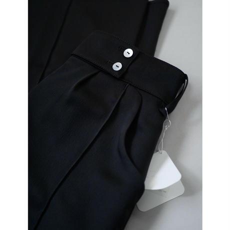 〔plain〕carving long pants