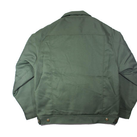 COMFORTABLE REASON / Daily Trucker Jacket (Olive)