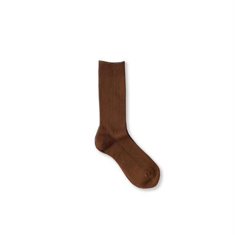 Solid Socks (Brown/Blue/SmokeyPink/Italian Yellow/C.Gray)
