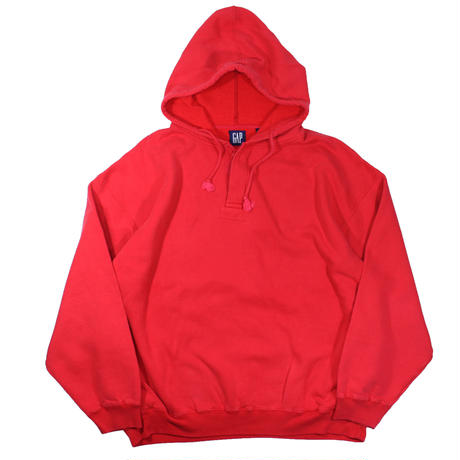 1990s GAP Sweat Parka (Red)