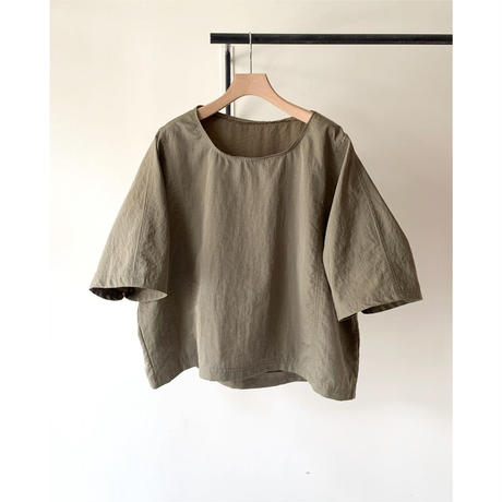 Handmade Wide Silhouette Nylon Top