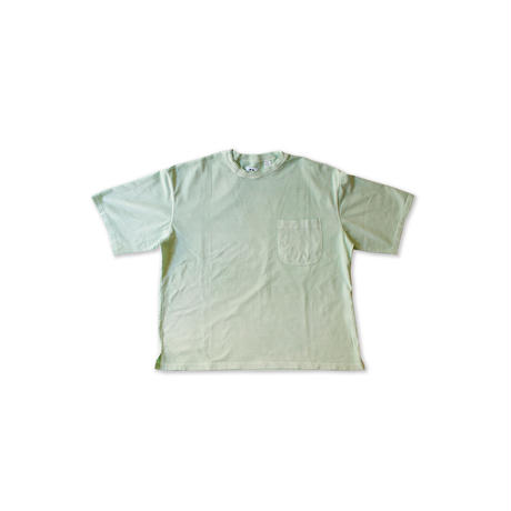 P A C S -Pigment Dyed Double Collar S/S Tshirts