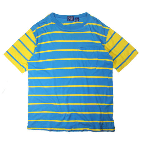 1980s  ST.Jhons Bay Striped Tshirts