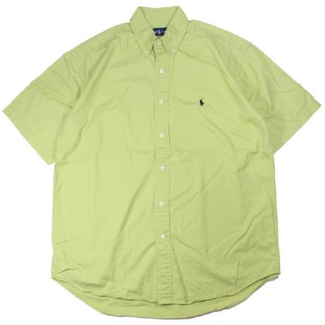 "2000s〜 Ralph Lauren ""BLAKE"" B/D shirts(鶯色)"