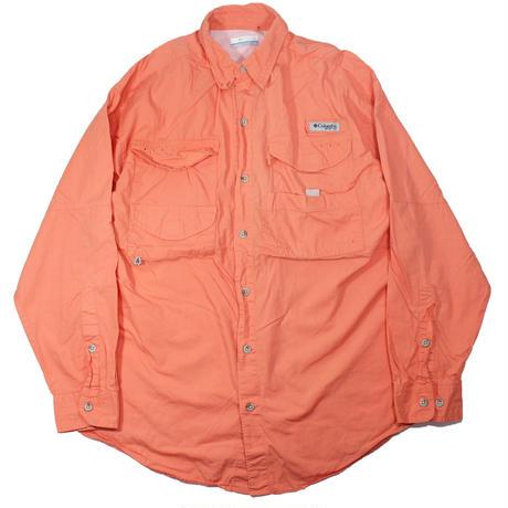 Columbia PFG Fishing Shirts (Salmon Pink)