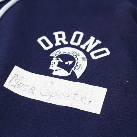"1980s Champion ""ORONO""  Sweat Parka  (Masa Speeter)"