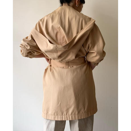 (ASIS) 1980s Designed Silk Coat