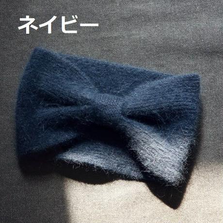 ☆sale☆クリックポスト送料込*2wayモヘアニットターバン(ヘアバンド)6color 《free》