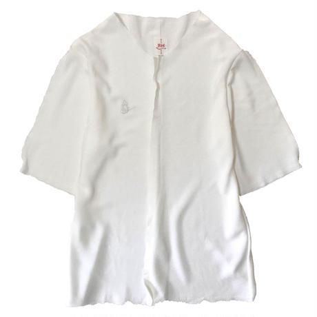 燐シャツ Mens 〈ちりめん白〉