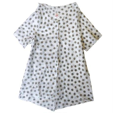 燐シャツ 半袖 〈花緑〉