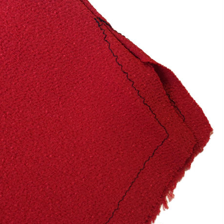 燐シャツ 七分袖 〈ちりめん 紅〉