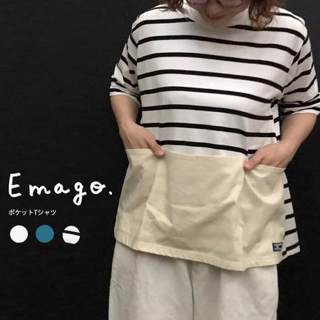 Emago 2103350 ポケットT