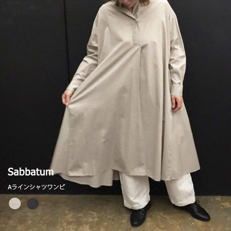 Sabbatum SA-27007 Aラインシャツワンピース