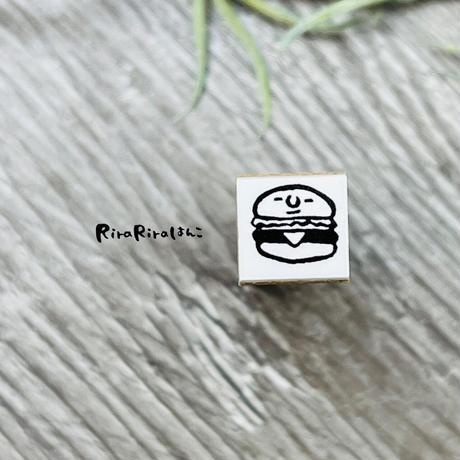 【ハンバーガー】スケジュールはんこ*10㎜角 *R586