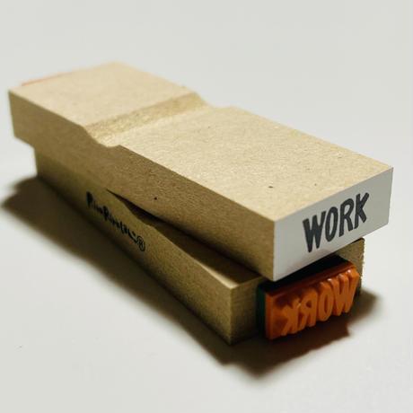 【WORK】英字スケジュール文字はんこ