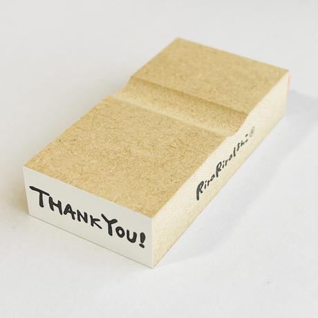 【12×28㎜】THANK YOU!*ラバースタンプ
