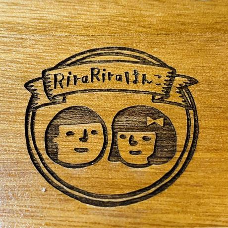 【金具が丸い印箱】RiraRiraはんこオリジナル印箱
