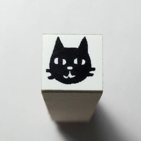 【クロネコちゃん】ラバースタンプ*10㎜角