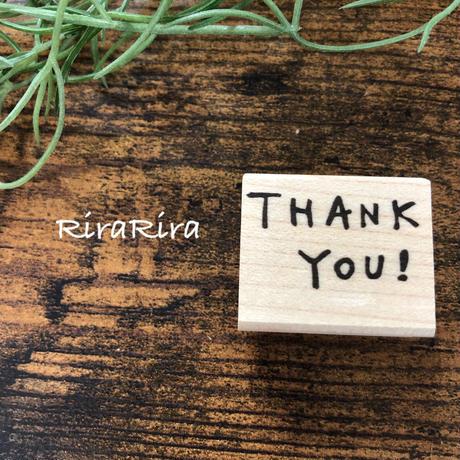 THANK YOU!*ラバースタンプ