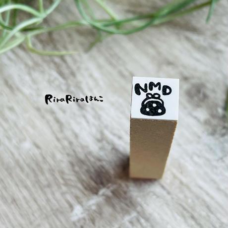 【NMD】No Money Day/ノーマネーデー*10㎜角*ラバースタンプ*R535