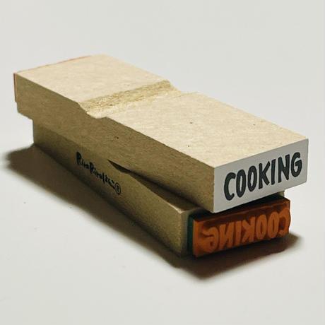 【COOKING(料理)】英字スケジュール文字はんこ