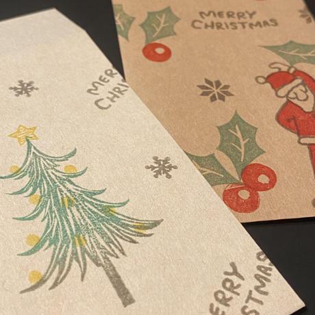 【クリスマス4色セット】シャチハタいろもよう☆RiraRiraはんこのおススメインクパッド 紙用