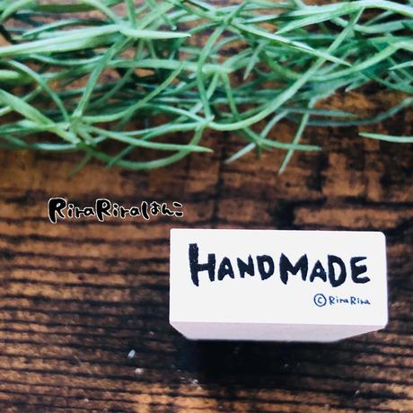 HAND MADE(ハンドメイド) 1.2×2.7*ラバースタンプ