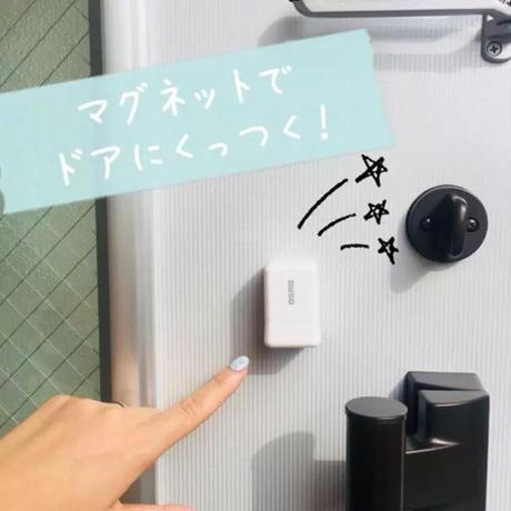【20mm角】ドアにくっつく!ハコくん受領印☆20㎜角☆浸透印【名入れ、赤インク】