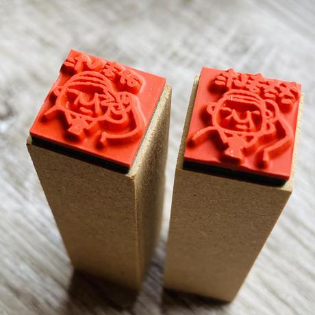 【岩井係長みましたききましたハンコ】×シャチハタいろもよう【紅色】スタディギフトボックスセット