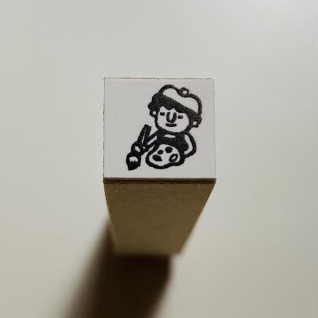 【絵画教室、お絵描き】スケジュールはんこ*10㎜角