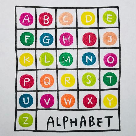 【アルファベットA〜Z】26本SET*箱付き