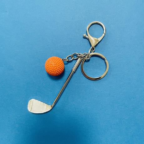 ゴルフ スポーツキーホルダー GOLF KEYCHAIN