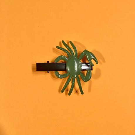 カニ ヘアクリップ アクセサリー Crab Hair clip
