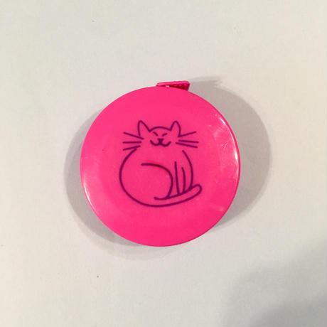 ねこ 猫 メジャー ピンク CAT TAPE MEASURE PINK